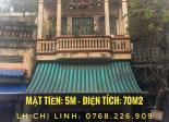 Cho thuê mặt bằng Kinh Doanh tại mặt chợ Gia lâm(Ngọc Lâm-Long Biên), MT5 m - DT 70m2
