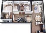 Cho thuê căn hộ tại tầng 48 Chung cư FLC Twin Tower, 265 Cầu Giấy, Quận Cầu Giấy, Hà Nội