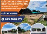 [ĐẤT NỀN] mặt tiền đường Nguyễn Thị Rành (Củ Chi) - 2800m2 giá 9.8 tỷ - CHỈNH CHỦ