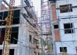 Nhà mới xây , đường mặt tiền , lộ giới rộng 25m 26m