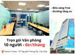 [Hỗ trợ Covid] 6 triệu FULL nội thất Cho Thuê Văn Phòng Cầu Giấy Detech Tower LH 0833.096.989