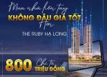 MUA NHÀ LIỀN TAY GẶT NGAY MAY MẮN  GIÁ  CỰC TỐT CHỈ TỪ 800 TRIỆU TẠI THE RUBY HẠ LONG