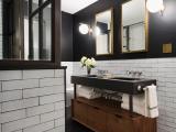 5 cách phối hợp gam màu metallic cho phòng tắm sang trọng
