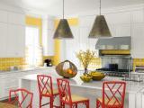 Những ý tưởng thú vị khi trang trí phòng bếp màu vàng